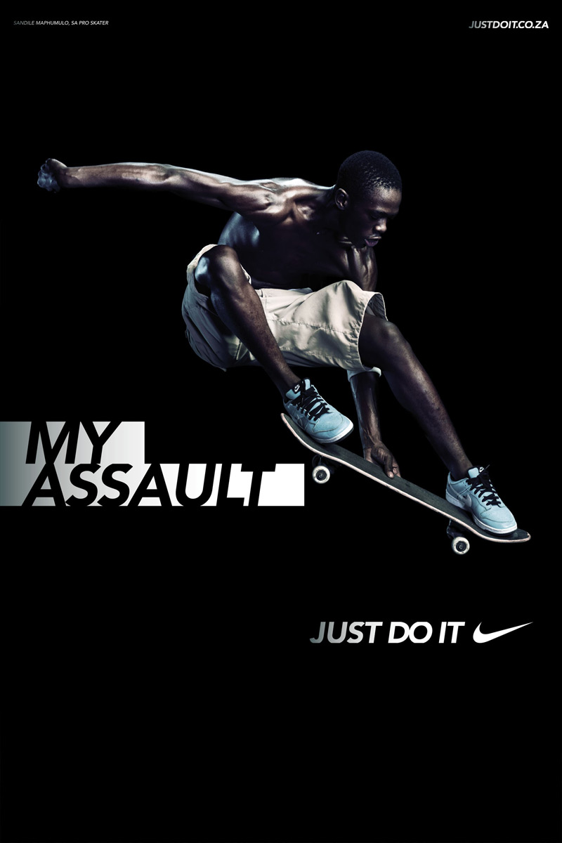 Nike Advertisement Posters http://laurenheideman.wordpress.com/page/2/